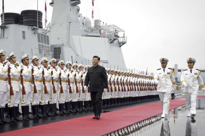 Chinese Military silent on missing Pakistan naval ships at fleet review | AP- India TV