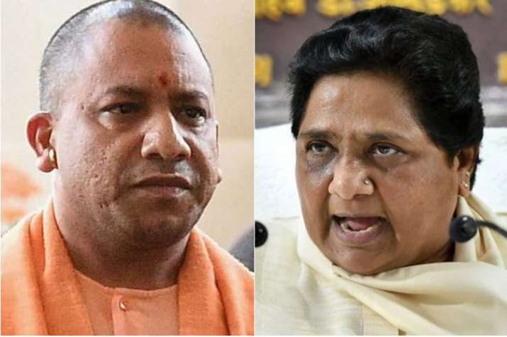 Mayawati and Yogi Adityanath | PTI File- India TV