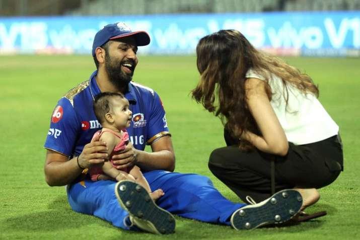 Rohit Sharma Dedicate his Half Century to daughter- India TV