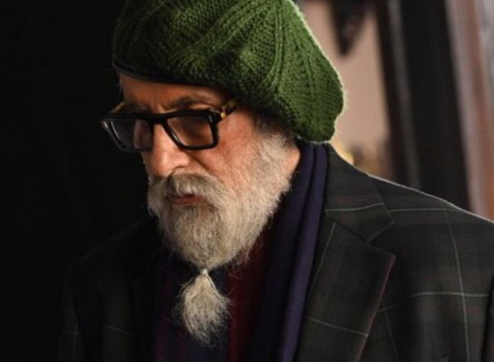 Amitabh Bachchan shares his first look from film...- India TV