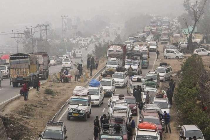 Jammu-Srinagar National Highway blocked- India TV