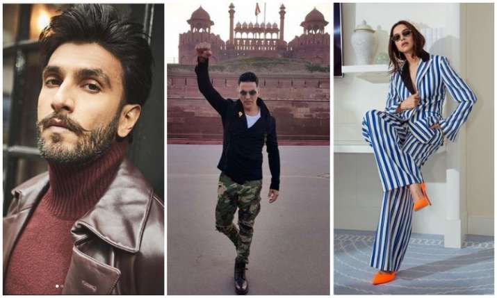 Ranveer singh, akshay kumar and deepika padukone- India TV