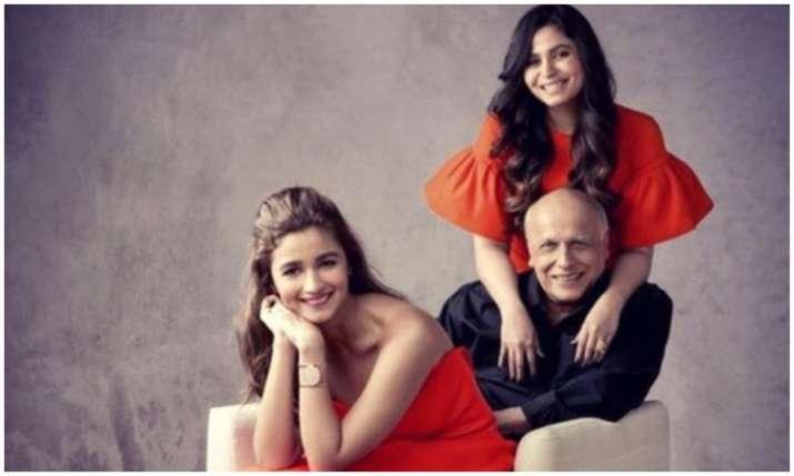 Alia, mahesh and shaheen bhatt- India TV
