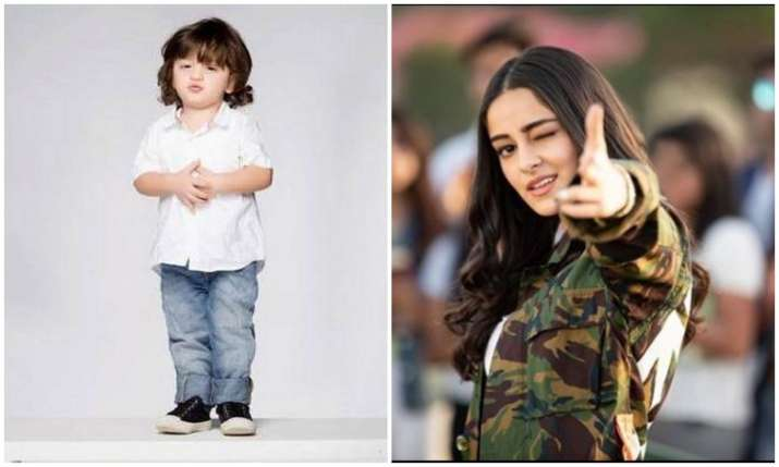 Abram khan and Ananya panday- India TV