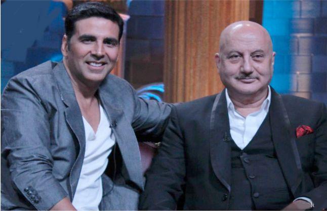 akshay kumar and anupam kher- India TV