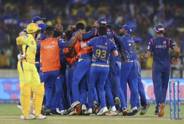 IPL 2019 Final: लसिथ मलिंगा ने आखिरी ओवर में पलटी बाजी, मुंबई रिकॉर्ड चौथी बार बनी विजेता- India TV