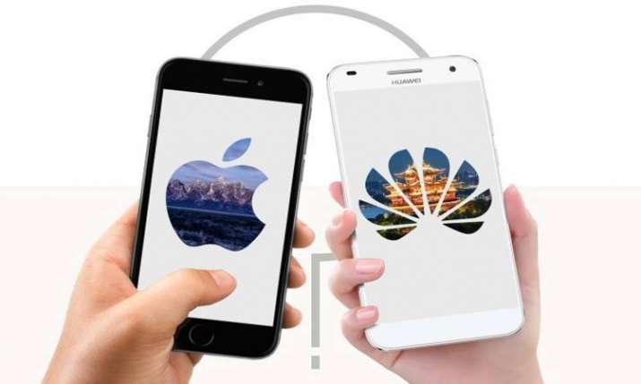 Huawei jumps ahead of Apple in tough smartphone market- India TV Paisa