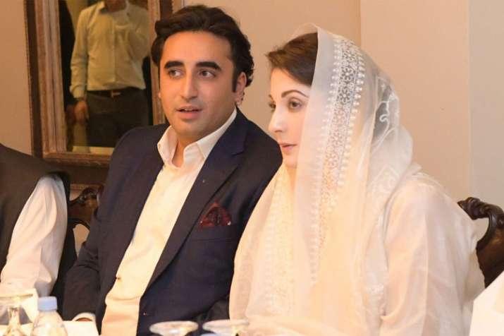 Maryam Nawaz meets Bilawal Bhutto at Iftar-dinner, calls him 'gracious host'   Twitter- India TV