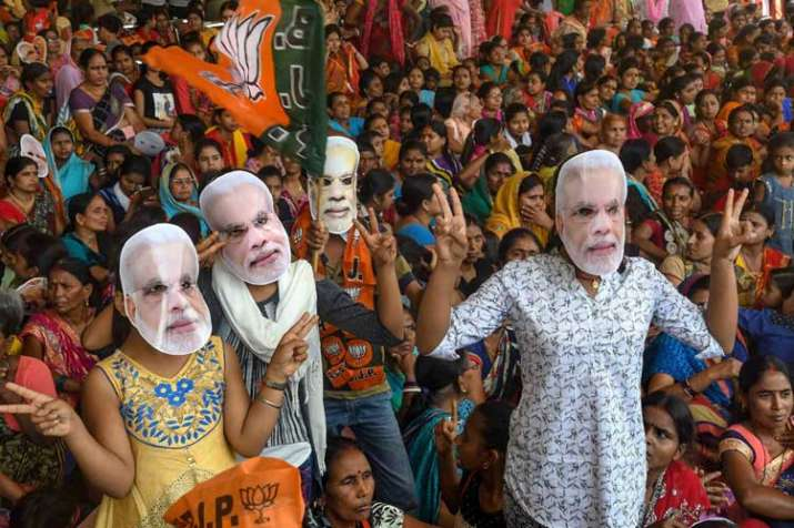 BJP Supporters- India TV