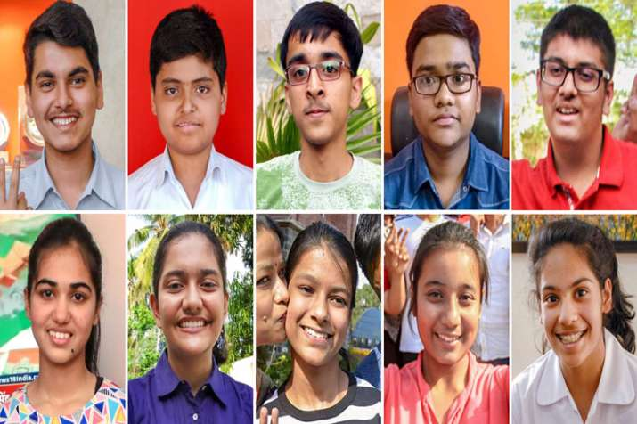10 of the 13 toppers of Central Board of Secondary Education (CBSE) class 10th examinations- India TV