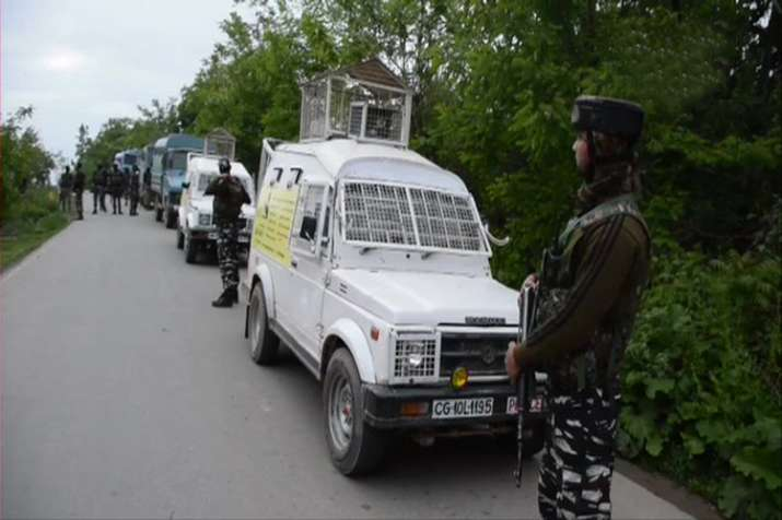 Two militant neutralized in encounter between security...- India TV
