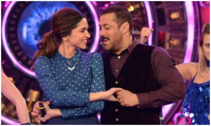 Deepika padukone and salman khan- India TV