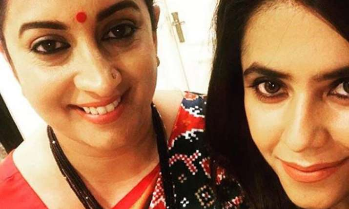 Ekta Kapoor's instagram post on Smriti Irani win- India TV