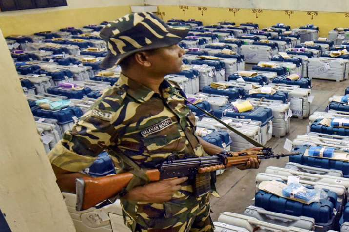 Polled EVMs are absolutely safe in Strongrooms: Election Commission- India TV