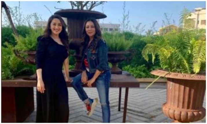 Gauri khan and madhuri Dixit- India TV