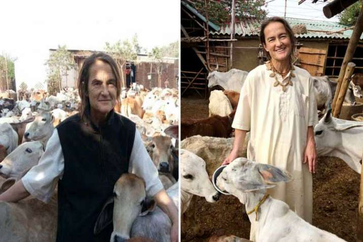 German Woman- India TV