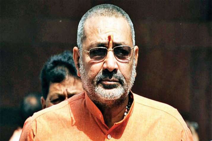 BJP fields Giriraj Singh for campaigning on last day of campaign in West Bengal- India TV