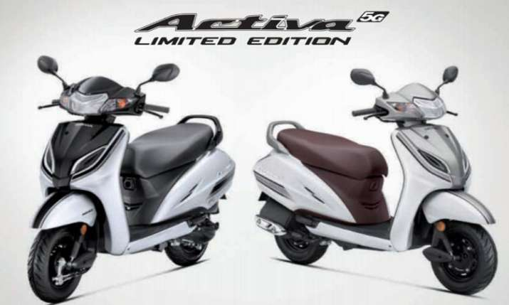 Honda Activa 5G Limited Edition Launched At Rs 55,032 - India TV Paisa