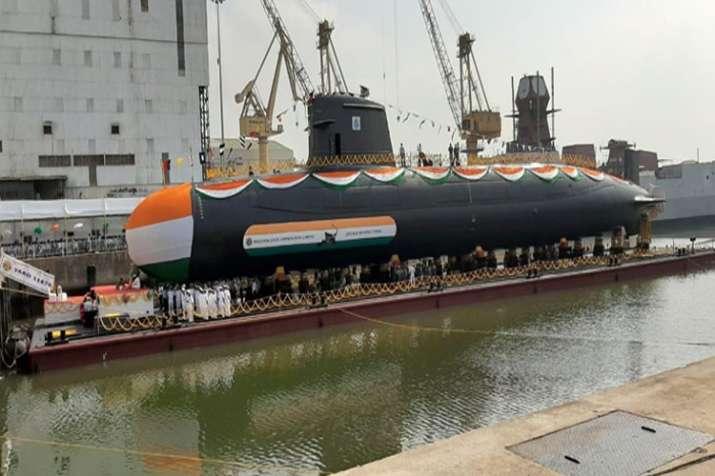 Fourth Scorpene Submarine INS VELA launched at Mazagaon Dock Limited | AIR- India TV