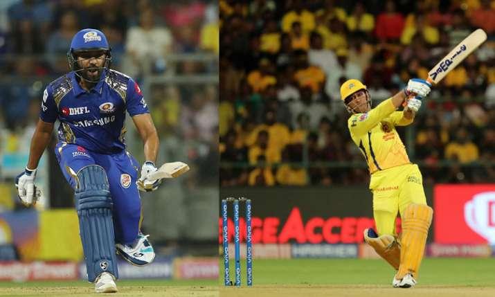 चेन्नई सुपर किंग्स बनाम मुंबई इंडियंस - India TV