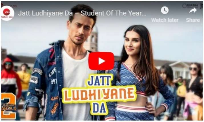 New song of Student of the year 2- India TV