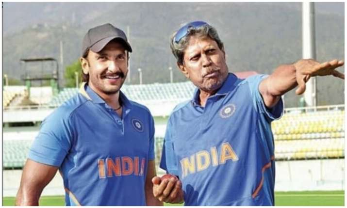 Ranveer Singh and kapil dev- India TV