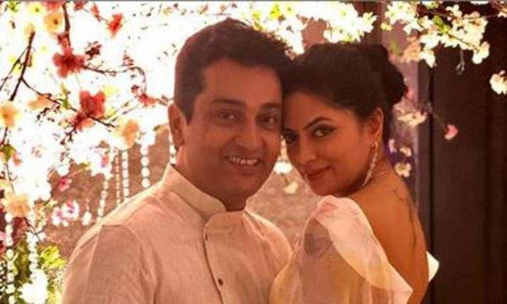 Kavita Kaushik with her husband Ronnit Biswas- India TV
