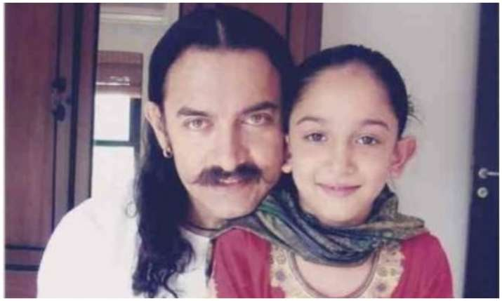 Aanir khan with daughter ira- India TV