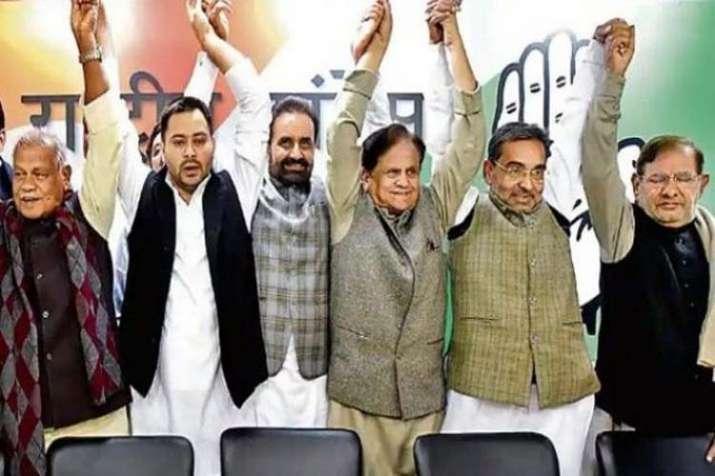 Bihar Mahagathbandhan- India TV