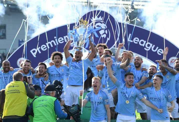 Premier League : मैनचेस्टर सिटी ने बरकरार रखा प्रीमियर लीग का खिताब, 10 साल में खिताब बचाने वाली पहल- India TV