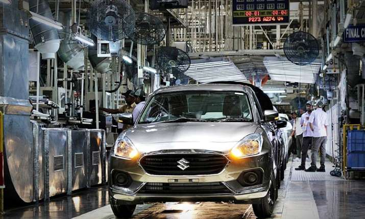 Maruti Suzuki cuts production by around 10 pc in April- India TV Paisa