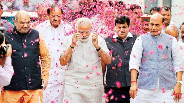 AAP congratulates Narendra Modi on BJP's performance- India TV