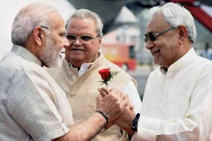 PM Narendra Modi and Bihar CM Nitish Kumar   PTI File- India TV