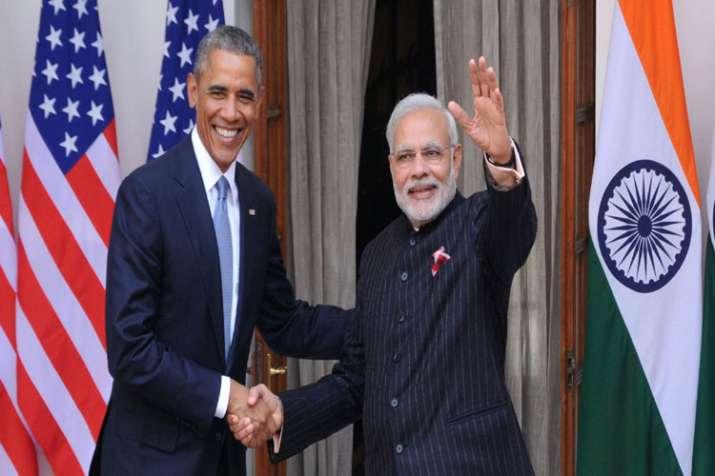 Former US president Barack Obama and Prime Minister Narendra Modi- India TV