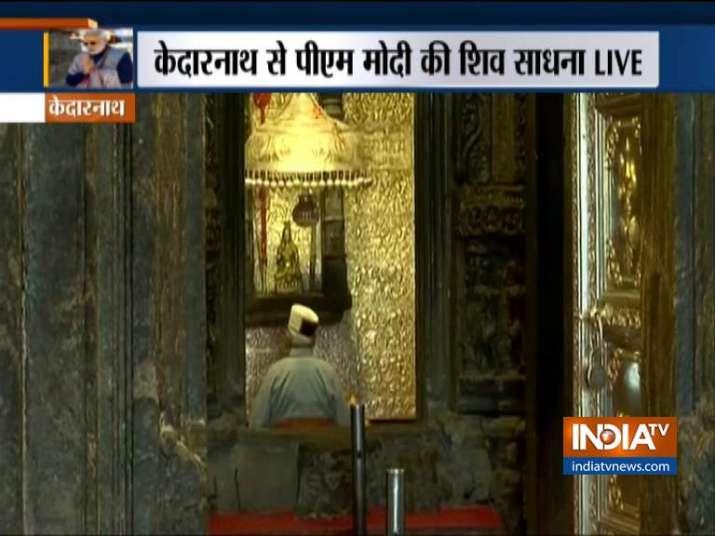 PM Modi Kedarnath Visit - India TV