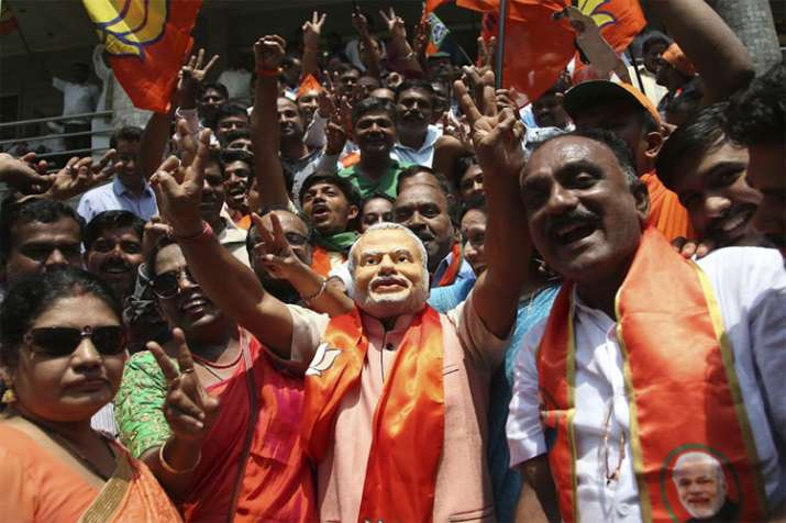 PM Narendra Modi to meet BJP workers part of the Lok Sabha campaign- India TV