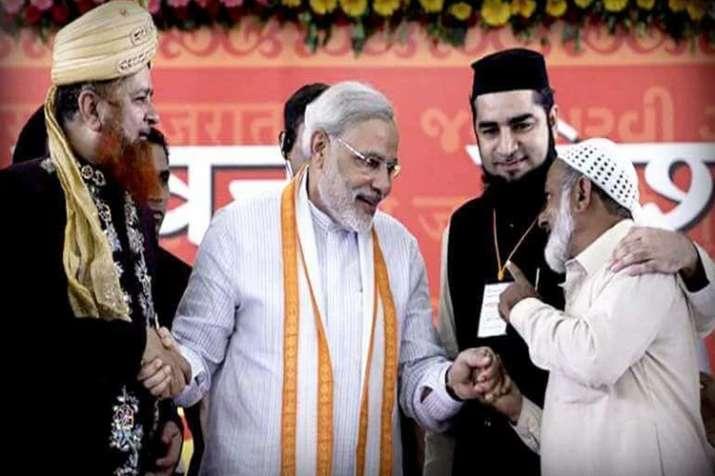 मुस्लिम मोहल्लों में अब भी कायम है मोदी लहर- India TV