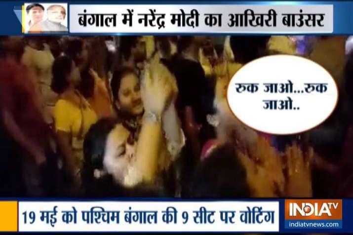 करोब-लड़बो-जीतबो से लड़बो-लड़बो-लड़बो में बदली बंगाल की लड़ाई- India TV