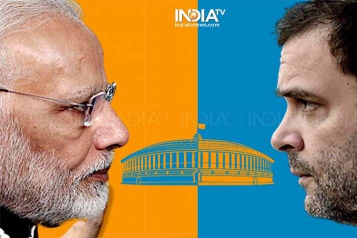 modi rahul- India TV