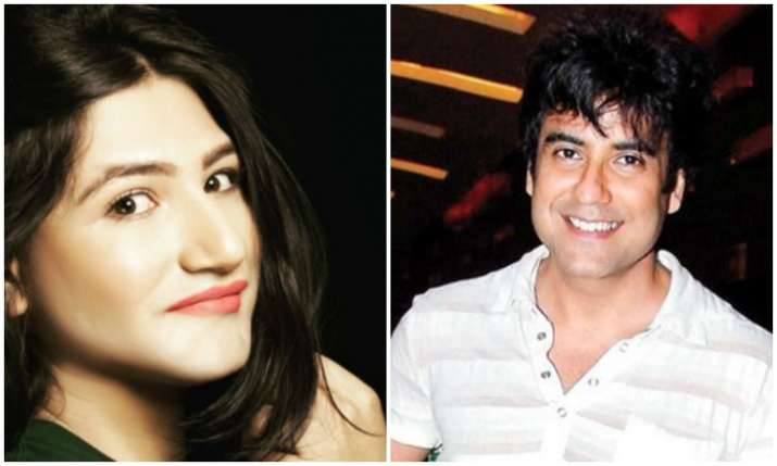 Mahika Sharma and Karan Oberoi- India TV