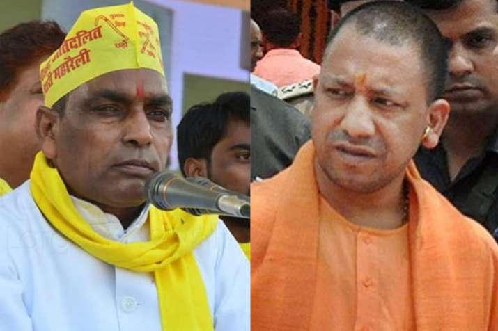 OP Rajbhar and Yogi Adityanath | PTI File- India TV