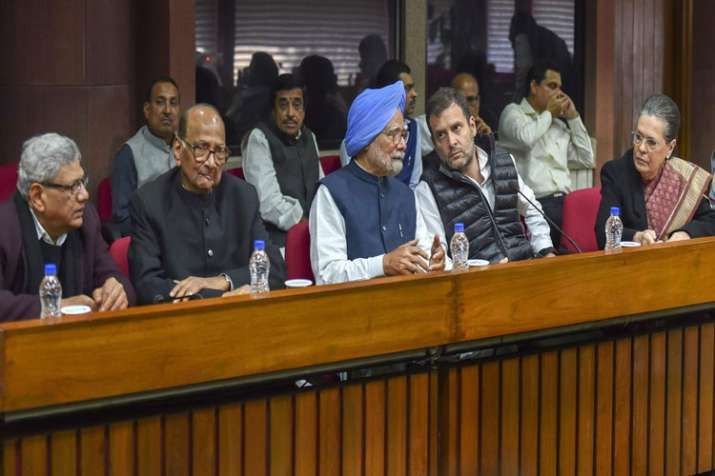 Oppn leaders set to meet tomorrow; also to move EC over VVPATs- India TV