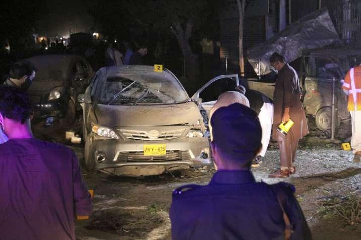 Blast in Pakistani city Quetta kills four policemen, 11 injured   AP- India TV