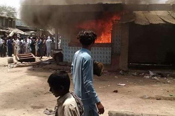 Mob violence in Mirpurkhas of Pakistan after Hindu doctor is accused of blasphemy | Facebook- India TV