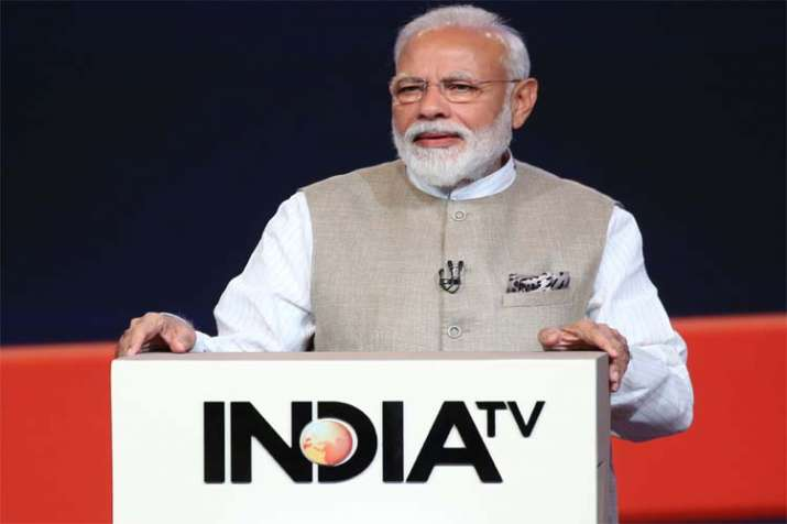 PM Narendra Modi- India TV
