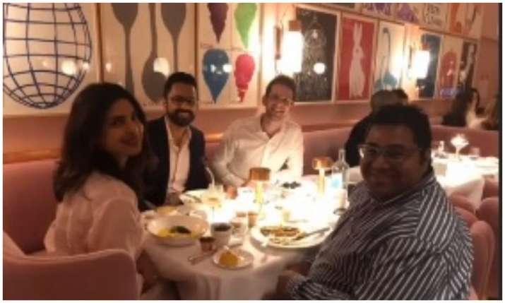 Priyanka chopra with her friends- India TV