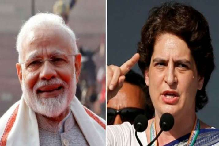 Priyanka Gandhi targets PM Modi by saying him biggest actor even bigger than Amitabh Bachchan- India TV