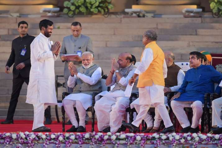 36 minister has take oath for second term while 20...- India TV