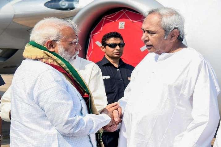 Prime Minister Narendra Modi and Odisha Chief Minister...- India TV