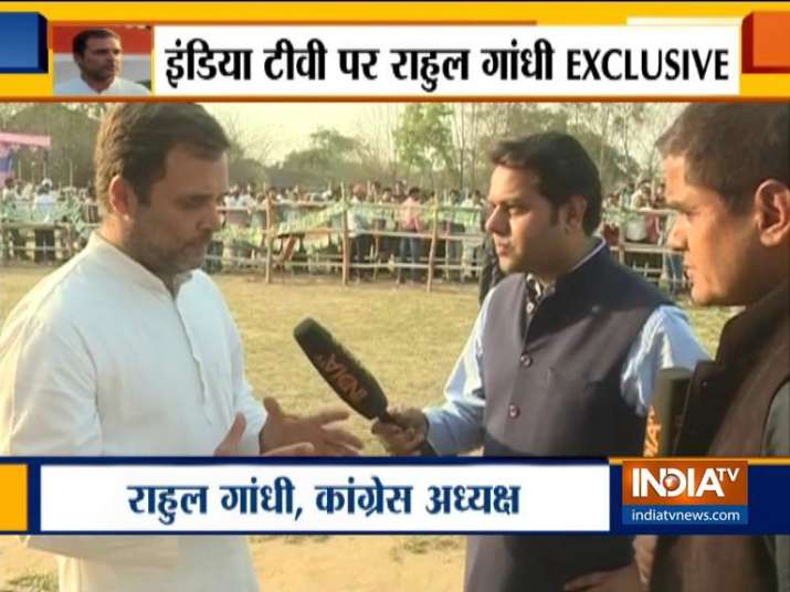 Rahul Gandhi Exclusive Interview- India TV